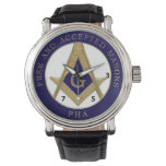 357 Free And Accepted Prin Hall Affiliated Watch at Zazzle