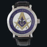 """357 Free and Accepted Prin Hall Affiliated watch<br><div class=""""desc"""">Formal dinner watch for the Masonic Man of Distinction</div>"""