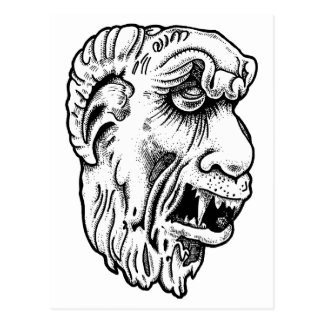 357 Gothic Gargoyle Postcard