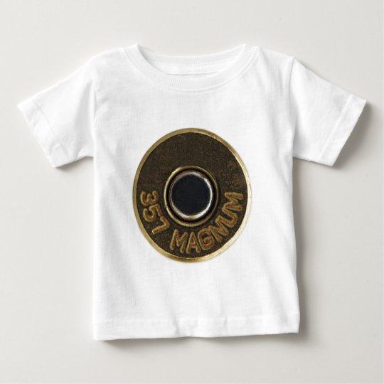 357 Magnum brass shell casing Baby T-Shirt