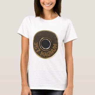 357 Magnum brass shell casing T-Shirt