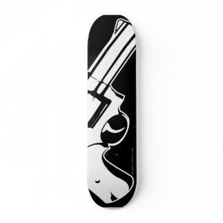 .357 Magnum skateboard