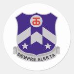 357 Regiment Round Sticker