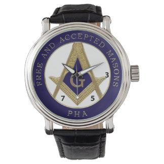 357 reloj afiliado Pasillo libre y aceptado de