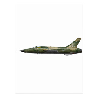 357o F-105 Thunderchief Tarjetas Postales