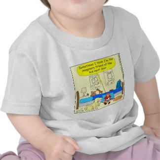 358 Imaginary friend color cartoon T-shirt