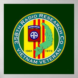 358o RRC - ASA Vietnam Póster
