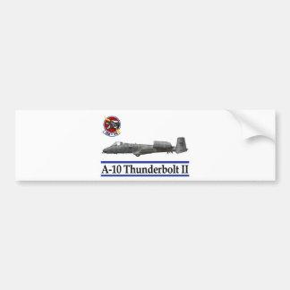 358th Fighter Squadron A-10 Thunderbolt Car Bumper Sticker