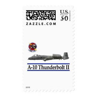 358th Fighter Squadron A-10 Thunderbolt Postage