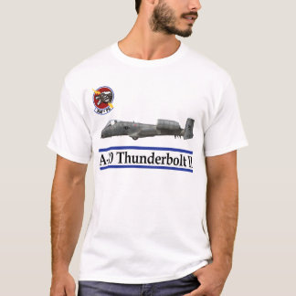 358th Fighter Squadron A-10 Thunderbolt T-Shirt