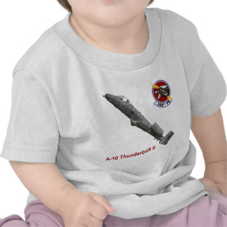 358th Fighter Squadron A-10 Thunderbolt Tee Shirts