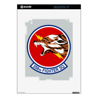 358th Fighter Squadron iPad 2 Skin