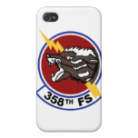 358th Fighter Squadron iPhone Case iPhone 4 Cases