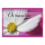 3598 Nurses Day Pink Greeting Card
