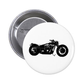 359 Bobber Bike 2 Inch Round Button