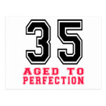 35 Aged to Perfection Postcard