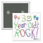 ¡35 años de la roca! pin