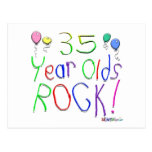 ¡35 años de la roca! postales