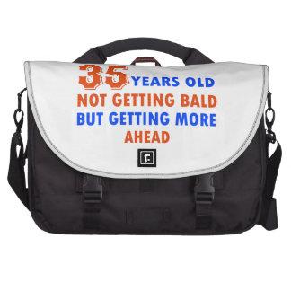 35 años divertidos del cumpleaños bolsas para portatil
