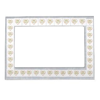 35 Elegant Graphic Designs Magnetic Picture Frames
