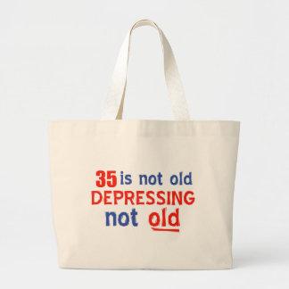 35 está presionando no viejos diseños del bolsa tela grande