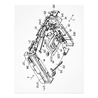 "3'5"" Floppy blueprint Letterhead"