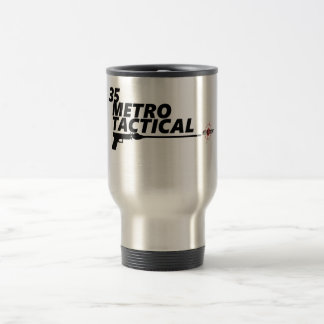 35 Metro Tactical Gun Club Travel Mug