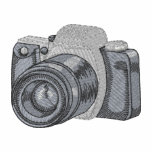 camera, lens, black, gray, circle, front, picture,