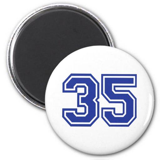 35 - número imanes