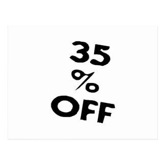 35 Percent off Post Cards