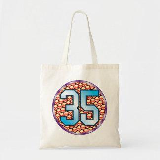 35 Skulls Age Budget Tote Bag