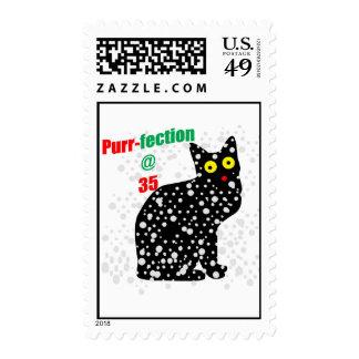 35 Snow Cat Purr-fection Stamps