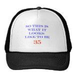 35 What It Looks Like Hat