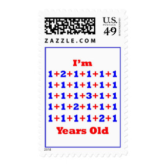 35 Years old! Postage