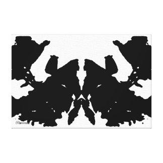 35mm_0021 Rorschach Impresión En Lona Estirada
