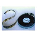 """35mm blank film reel 5"""" x 7"""" invitation card"""