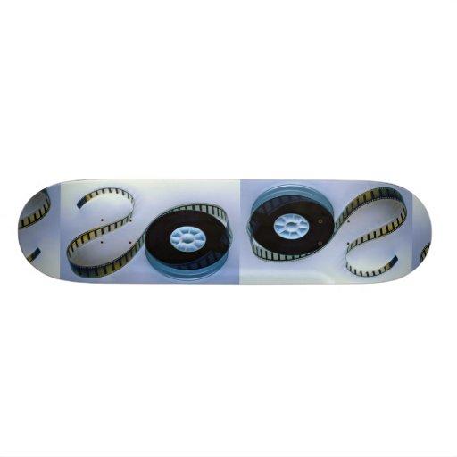 35mm blank film reel skateboard