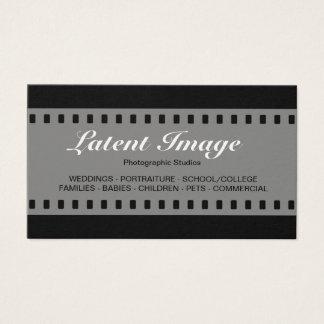 35mm Film 010 (Cream) Business Card