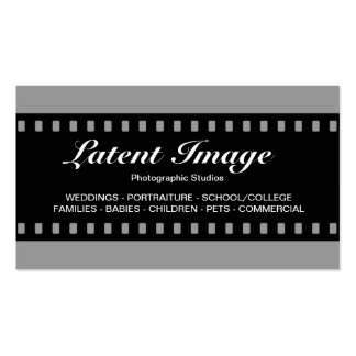 35mm Film 04 Double-Sided Standard Business Cards (Pack Of 100)