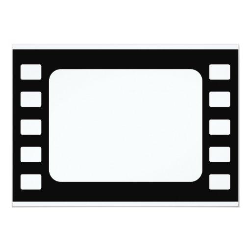 """35mm Film 5"""" X 7"""" Invitation Card"""