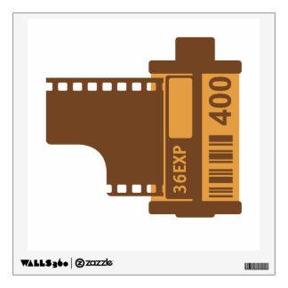 35mm Film Analog Design Room Decals