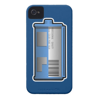 35mm Film Canister Blackberry Case (blue bckgrd)