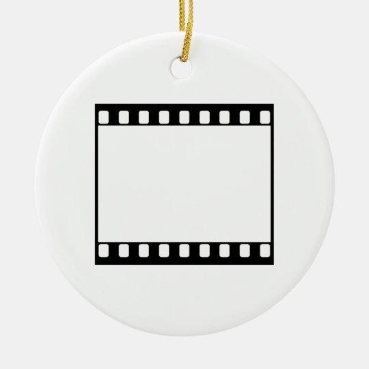 35mm Film Ceramic Ornament