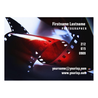 35mm film Chubby Card Large Business Cards (Pack Of 100)