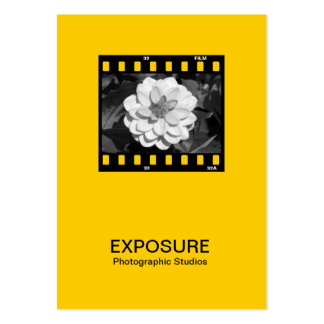 35mm Film Frame 01 - Amber Business Card