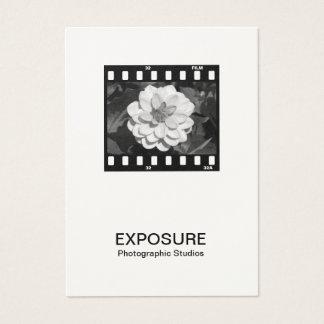 35mm Film Frame 01 (Cream) Business Card