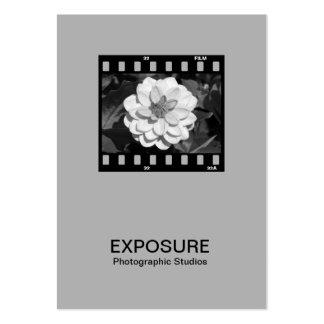 35mm Film Frame 01 - Gray Business Card