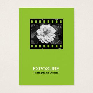 35mm Film Frame 01 - Martian Green Business Card