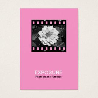 35mm Film Frame 01 - Pink Business Card