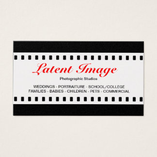 35mm Film (Gold) Business Card